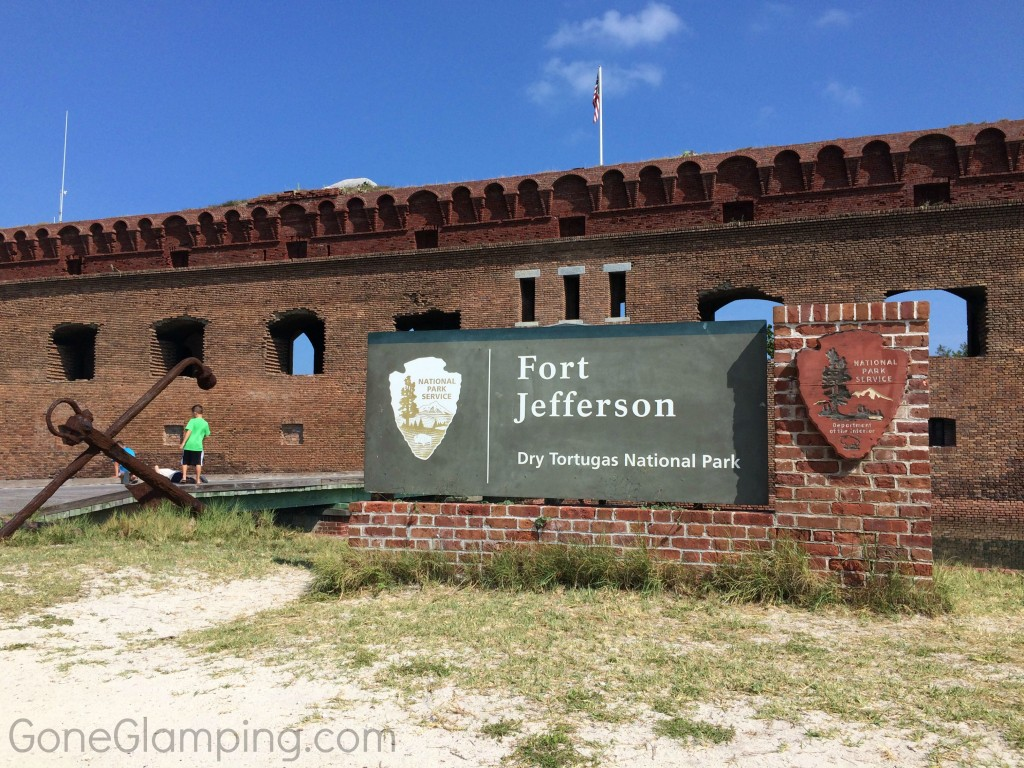 Dry Tortugas Fort Jefferson Sign