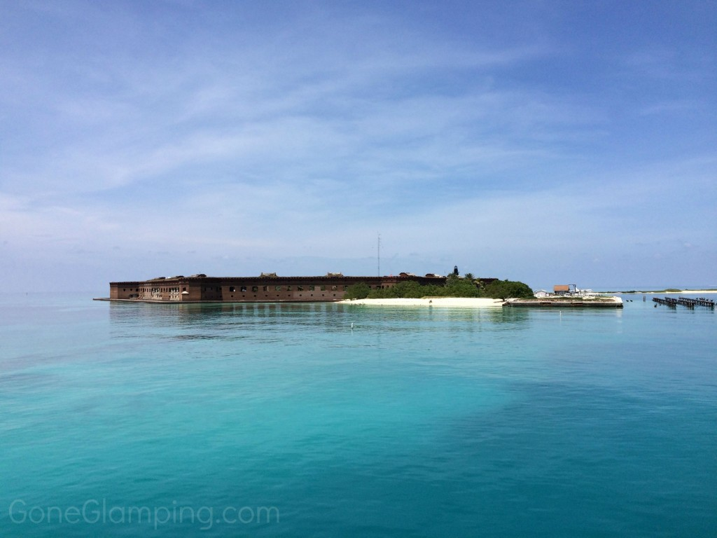 Dry Tortugas from the water