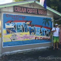 Greetings from Key West sign